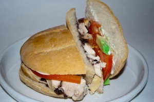 Roasted Chicken Torta