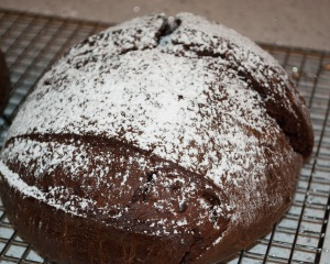 Chocolate and Chile Ancho Bread
